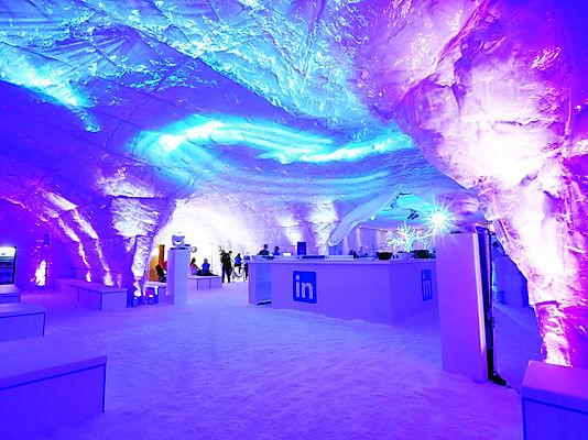 Ice themed events and parties for hire.
