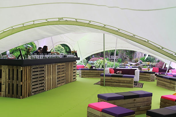 Mobile Bar Hire for Luxury Themed Marquee Events London UK