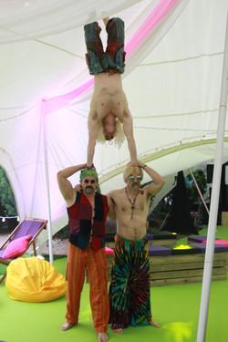 Hippie Acrobats Hire