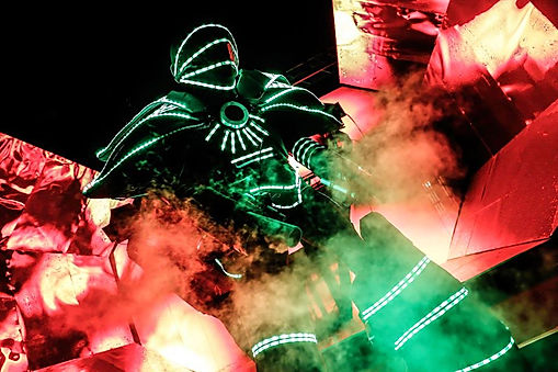 Futuristic event styles for Sci-FI themed events near London.