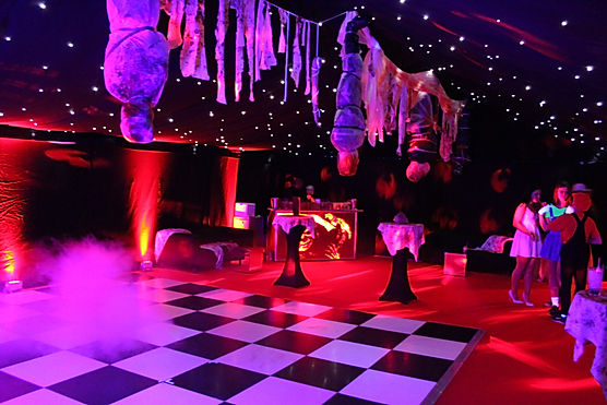 Dance Floor for Marquee Luxury Birthday Party London UK