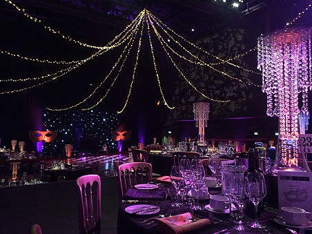Masquerade themed gala dinner events and parties for hire. hire masked ball decorations in the UK.