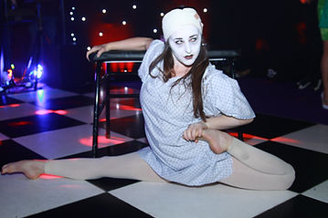 Scary Contortionists Hire for Halloween Themed Events Entertainement London UK