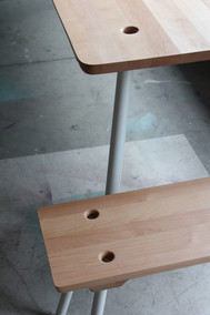 Stuben Table and Bench