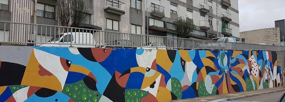 Mural da Linha