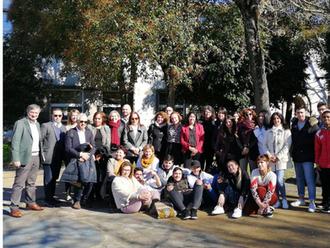 Visita da delegação do MedNC