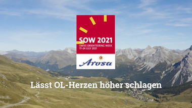 Swiss O Week 2021 Willkommen in Arosa