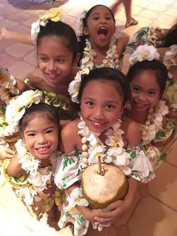 Island fun!  Hula girls.