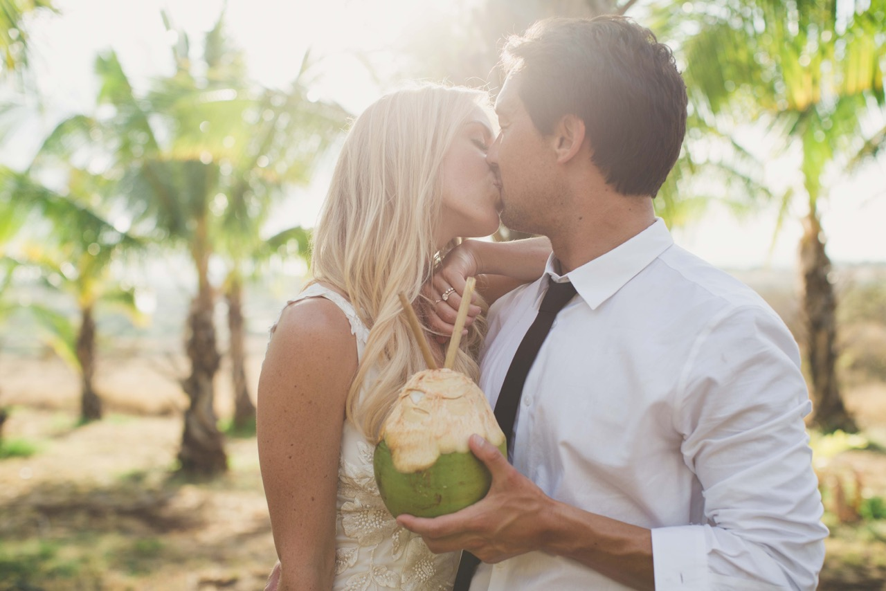 Coconut love.