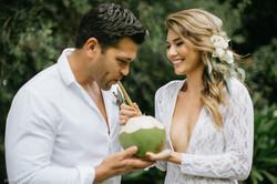 Maui bride and groom moment