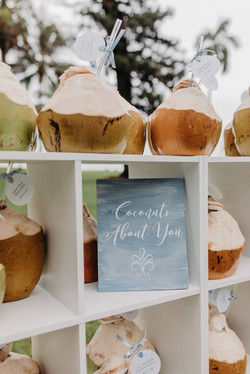 Shaved coconuts