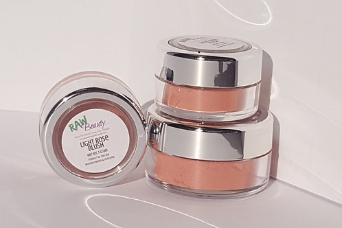 Vegan Blush | Light Rose | Raw Beauty Minerals