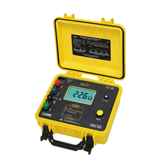 AEMC 4630 Rechargeable Digital 4-Point Ground Resistance Tester, 4-Point, 2000Ω