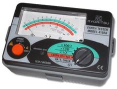 KYORITSU 4102A-H Analogue Ground Resistance Tester, 1200Ω, with case