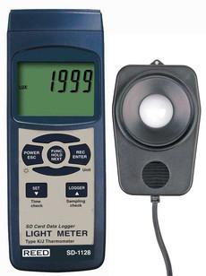 REED SD-1128 Data Logging Light Meter