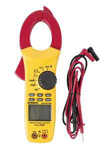 SPERRY DSA1020TRMS True RMS Clamp Meter, 10 Funct, 600V AC/DC, 1000A