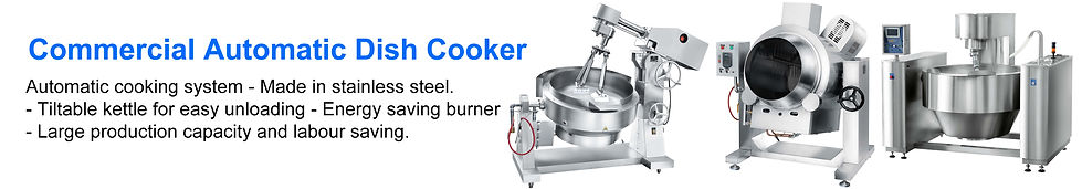 Commercial Automatic Dish Cooker