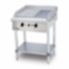 Gas Griddle (Half Ribbed) Free Standing.