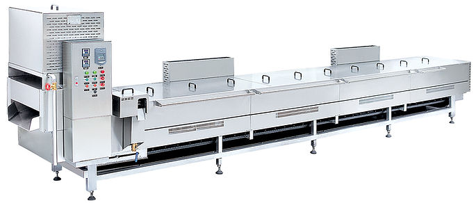 Automatic Continuous Frying Machin
