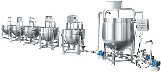 Automatic Boiling Line