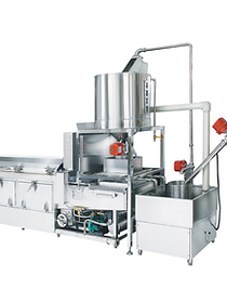 Steaming Rice Cooking Line