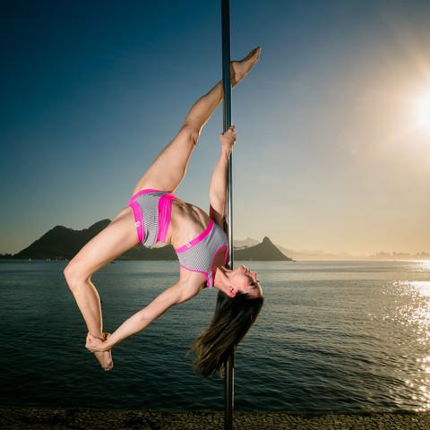 Ensaio Pole Dance