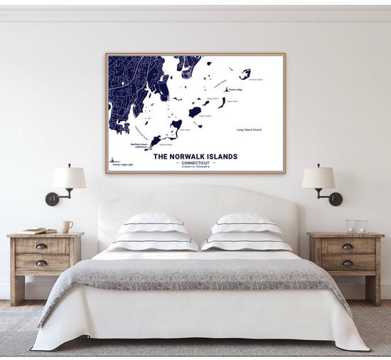 Norwalk Islands Map