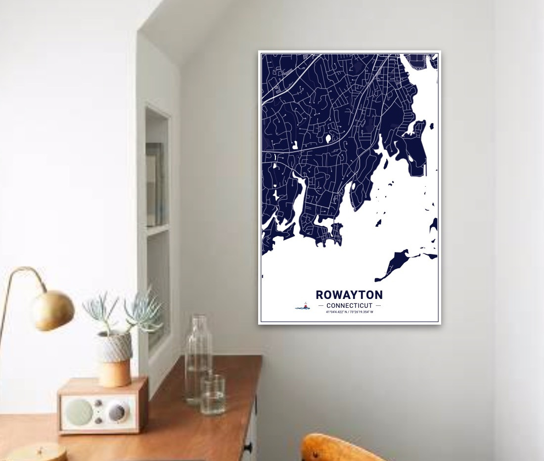 Rowayton Island Maps