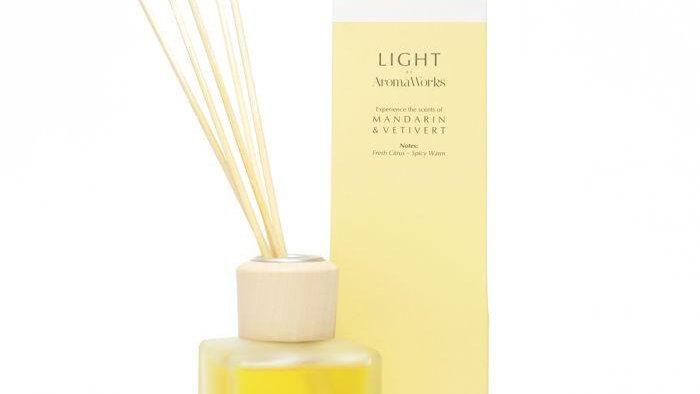 AromaWorks Light Range Mandarin & Vetivert Reed Diffuser 100ml