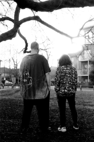 Maxwell Owin and Anja Ngozi