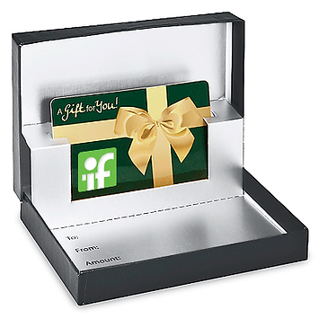 Our Gift Certificate presentation box