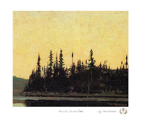 Sunset Canoe Lake
