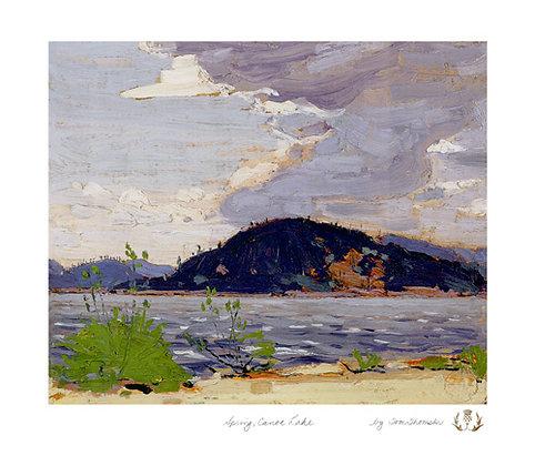 Spring Canoe Lake