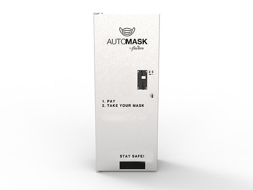 AUTOMASK with Coin Acceptor for cash payment