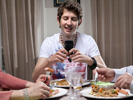 Family Dinner with Teenagers