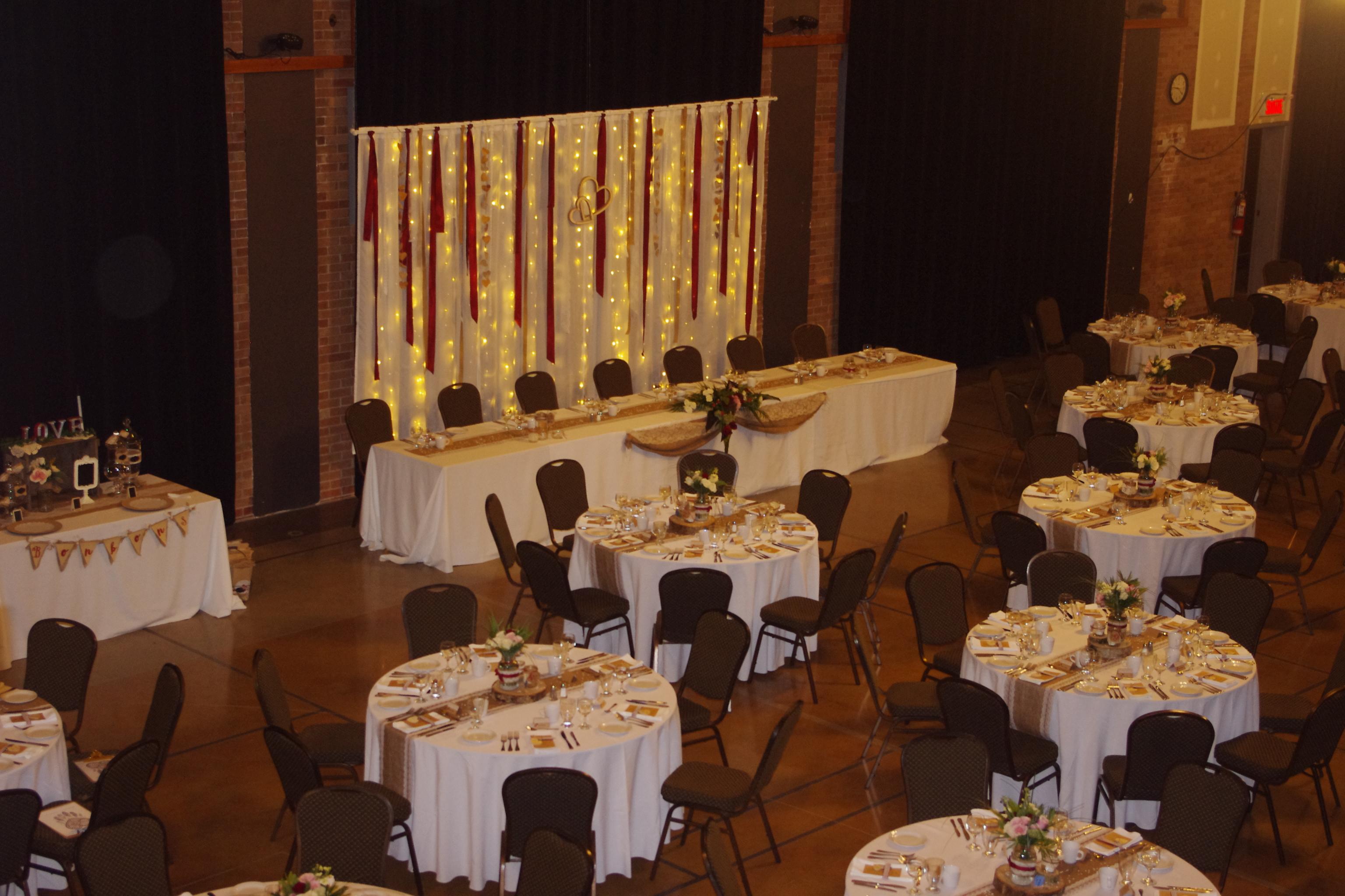 Table d'Honneur Espace Sophia