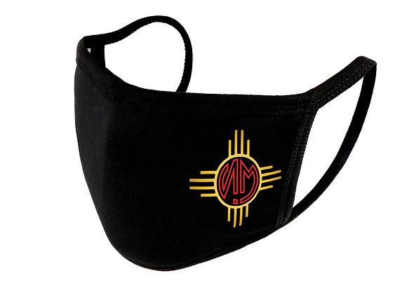 """""""NM Sunrise"""" Adjustable Unisex Face Shield (Reusable Washable Cotton Fab"""