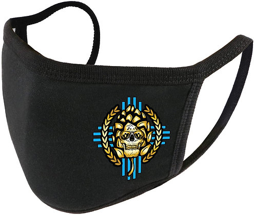 """Hop Head"" Adjustable Unisex Face Shield (Reusable Washable Cotton F"