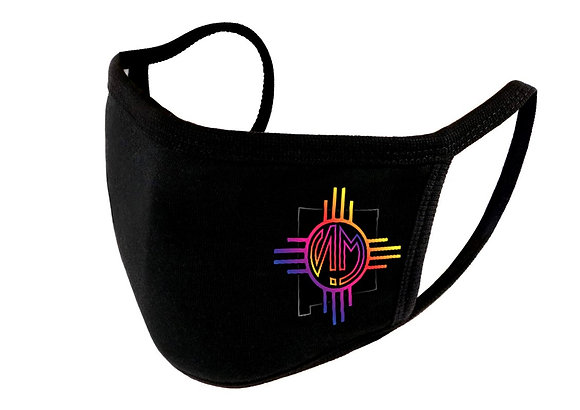 """NM Dusk State"" Adjustable Unisex Face Shield (Reusable Washable Cotton Fab"