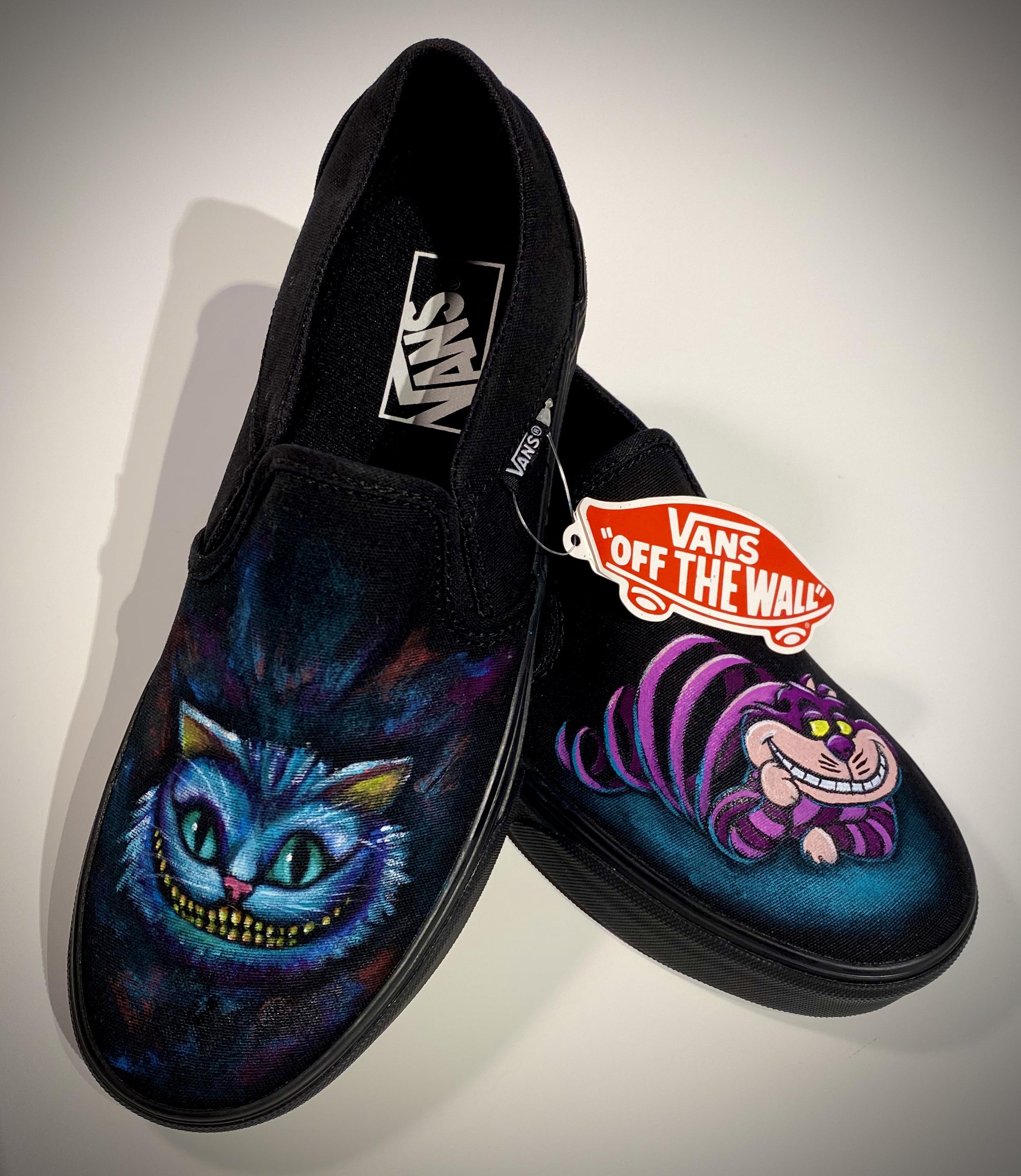 """Cheshire Cat"" Vans"