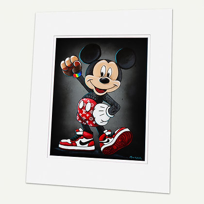 """""""UNITY""""  Signed matted Giclée Print"""