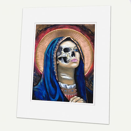 """Maria en la Muerte"" Signed matted Giclée Print"