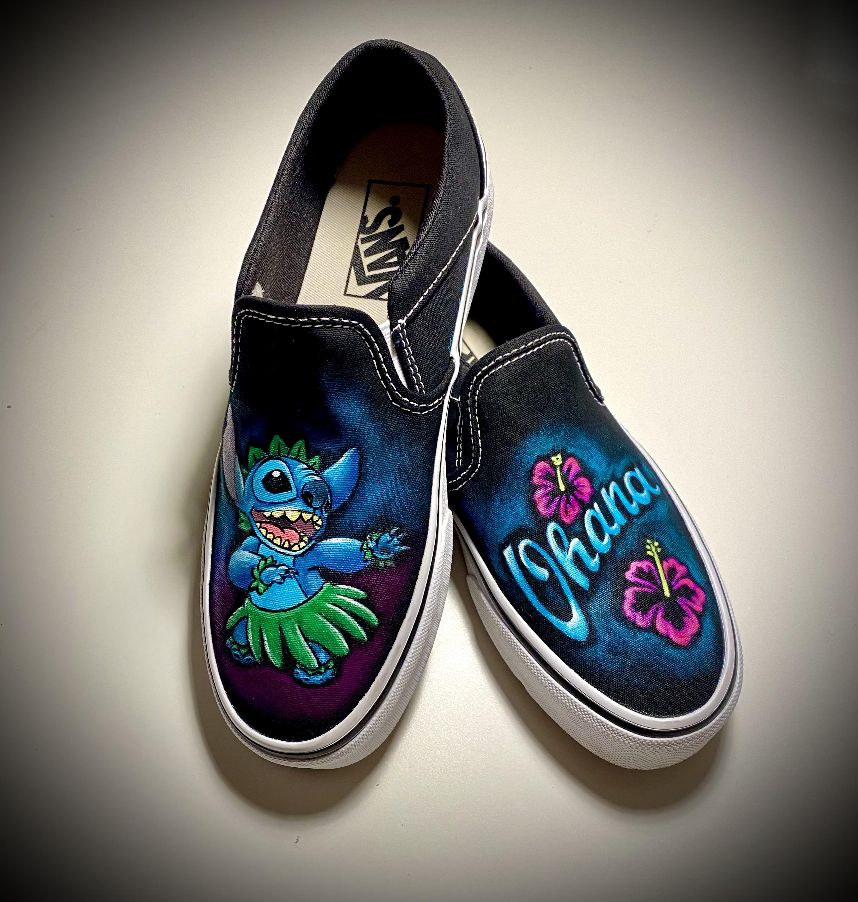 """""""Stitch"""" Vans"""