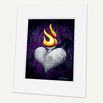 """Eternal"" Signed matted Giclée Print"
