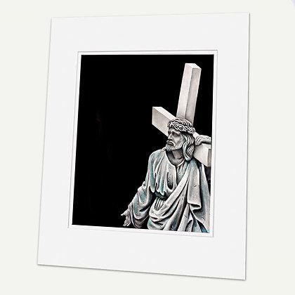 """Jesus II"" Signed matted Giclée Print"