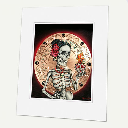 """Until Death"" Signed matted Giclée Print"
