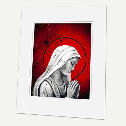 """Prayers""  Signed matted Giclée Print"