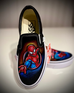 Spider Man Vans