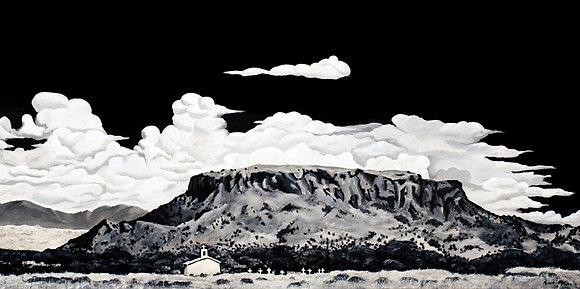 """Black Mesa"" Canvas Giclée"