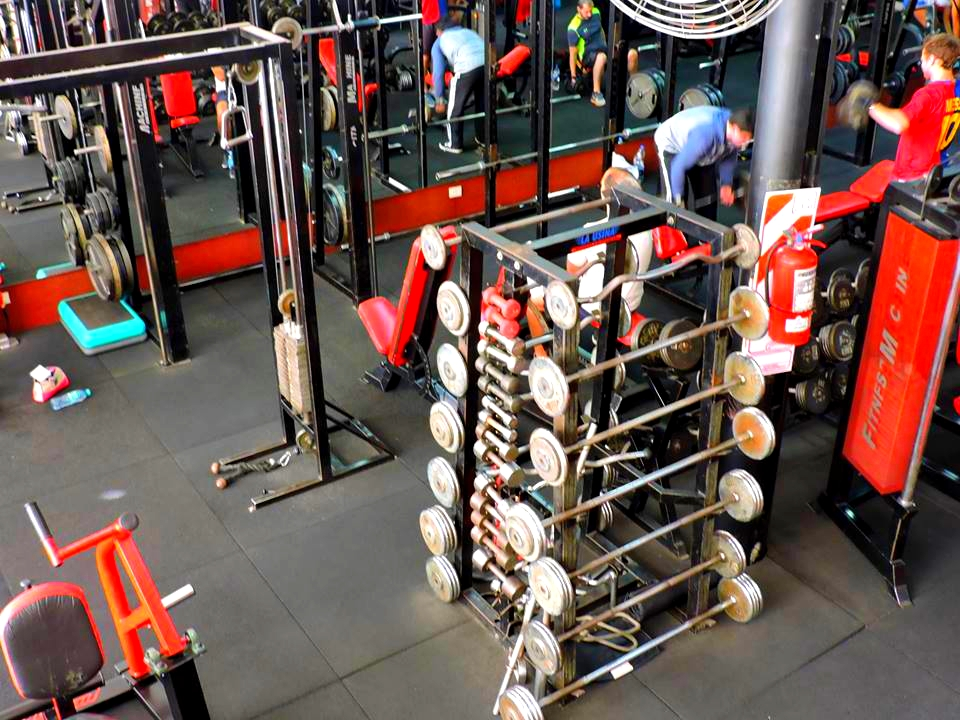 musculacion aparatos gimnasio Steel and blood 10